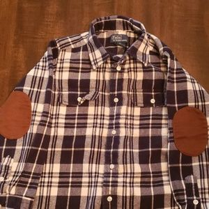 Boys Ralph Lauren polo flannel